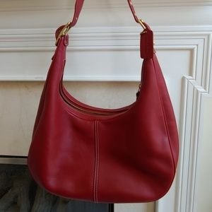 Red Coach Bag VTG